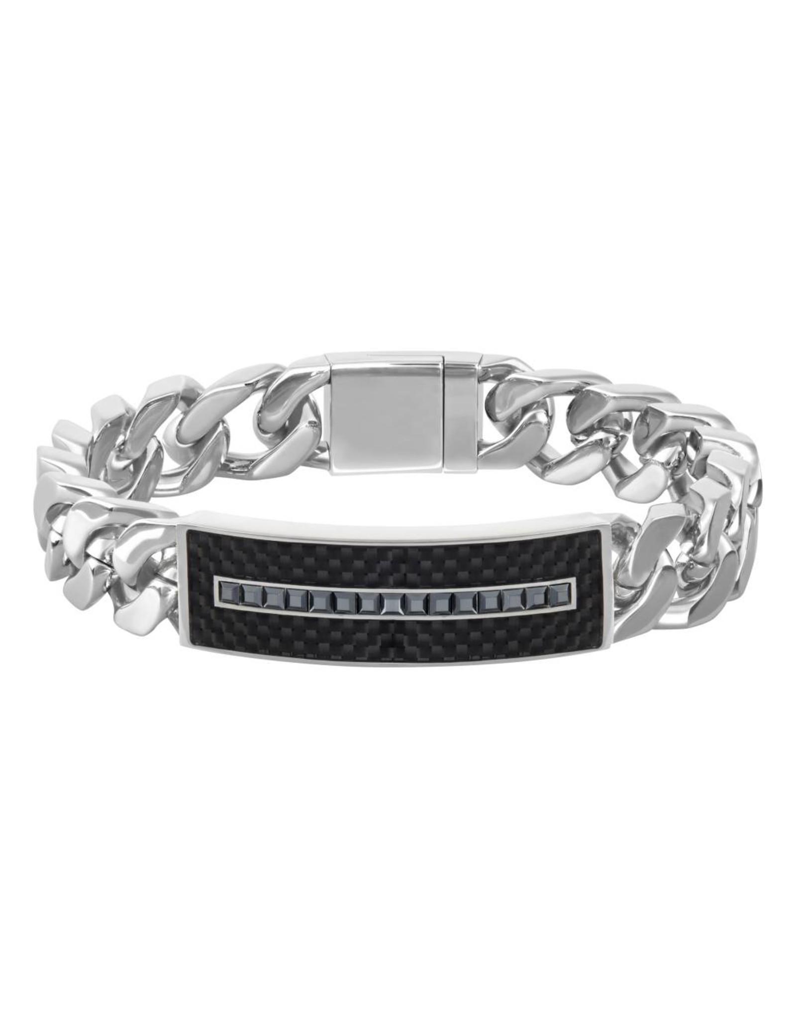 Swarovski Swarovski Men's Diagonal Bracelet