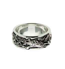 Keith Jack Black CZ Dragon Ring