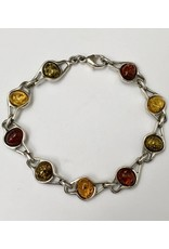 Baltic Amber Bracelet SS