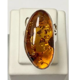 Baltic Amber Ring
