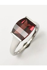 3.50ct Garnet Ring 14KW