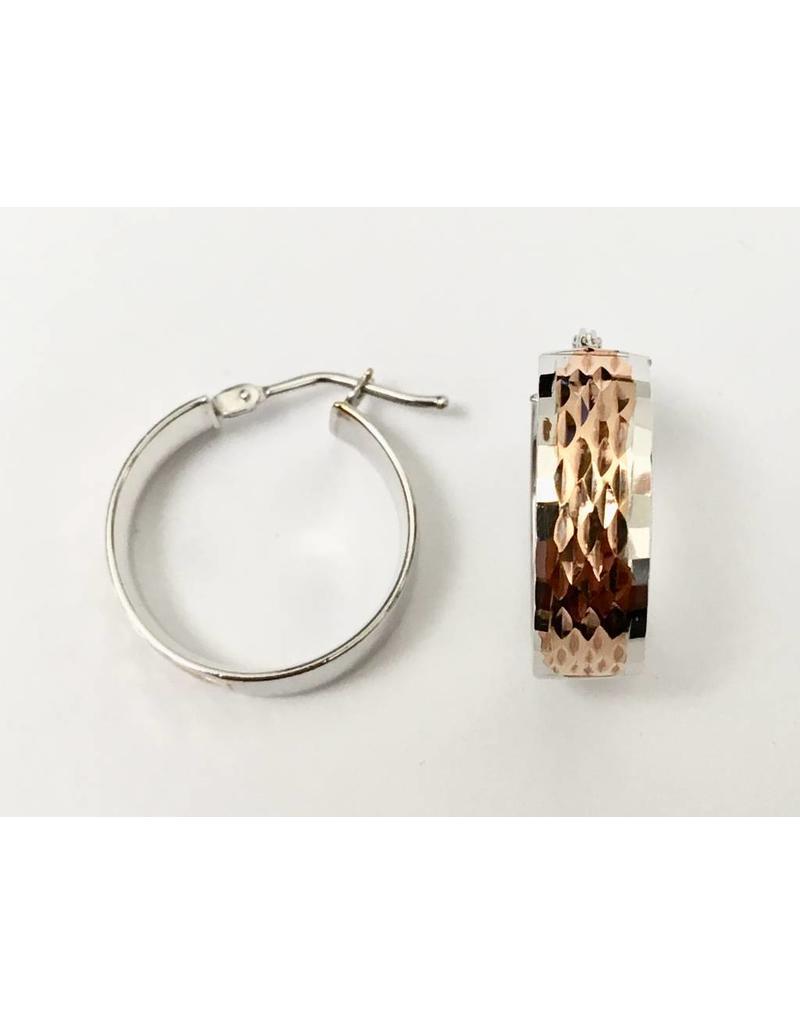 18mm Fancy Hoop Earrings 10KWR
