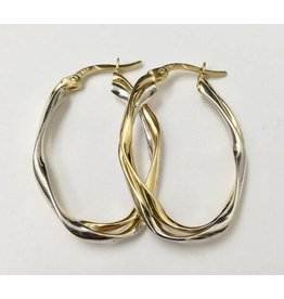 30mm Oval Hoops