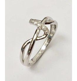 Ladies Diamond Ring Freeform