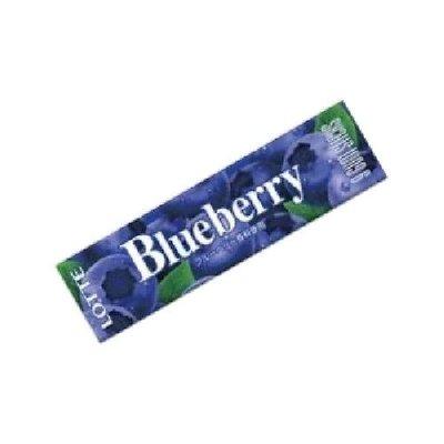 乐天 蓝莓口香糖