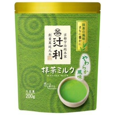 辻利 抹茶牛奶粉 200g