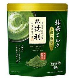 辻利 浓厚抹茶牛奶粉 (宇治抹茶2倍使用) 160g