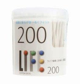 Cotton swabs 白色棉棒 200枚