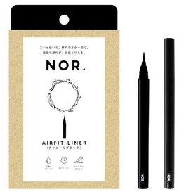 Nor 初学者0.1mm顺滑眼线液笔 温水可卸 黑色
