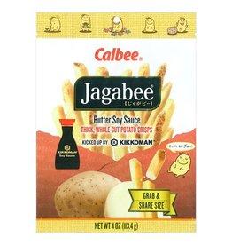 Calbee Calbee Jagabee 薯条袋装 酱油味