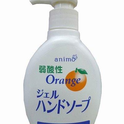 日本 弱酸性洗手液 橙子香