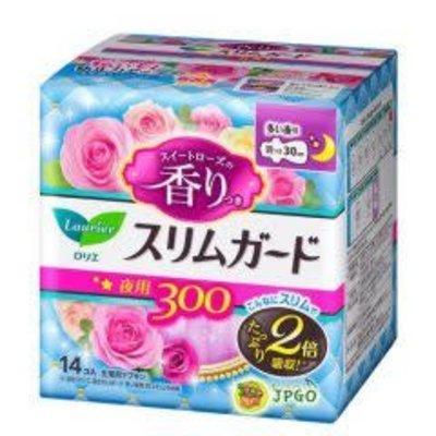 Kao 花王 花王乐而雅零触感量多日用卫生巾 20.5cm 甜玫瑰香26枚