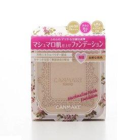 Canmake Canmake 棉花糖控油啞光粉餅 方形蜜粉餅 (MB自然膚色)