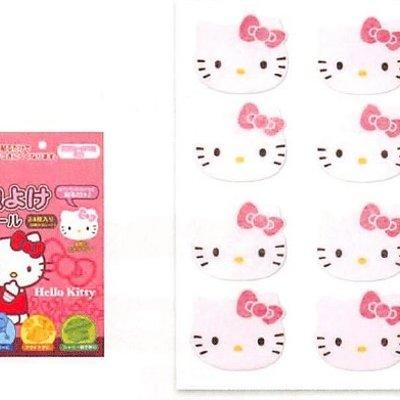 Santen Hello Kitty 纯天然成分驱蚊贴/防蚊贴 24枚