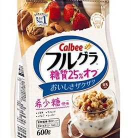 Calbee Calbee 卡乐比水果麦片 减糖低卡版 600G
