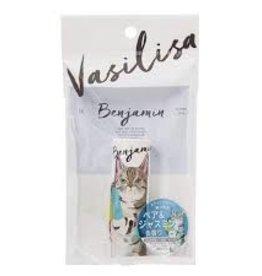 Fits Vasilisa 可爱造型清新淡雅固体香水膏 小猫咪 茉莉花香