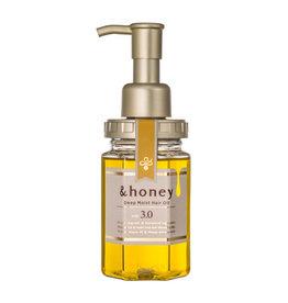 &honey 高滋养成分安蒂花子柔顺蜂蜜修复髮油 保湿型 100ML