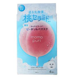 BCL BCL Momo Puri 乳酸菌水蜜桃桃子精华神经胺保湿面膜 夏季限定版 4枚入