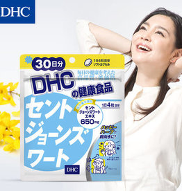 DHC DHC 舒心小连翘胶囊30日量 圣约翰草缓解焦躁防抑郁