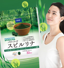 DHC DHC 能量食品螺旋藻片30日量缓解疲劳增强体质