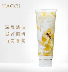 Hacci HACCI 蜂蜜白色花束洗发水柔软光泽秀发滋润锁水240ml