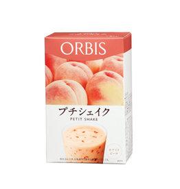 ORBIS ORBISORBIS 低卡纤体营养代餐奶昔 白桃味 7袋入