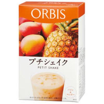 ORBIS ORBIS 低卡纤体营养代餐奶昔 芒果菠萝味 7袋入