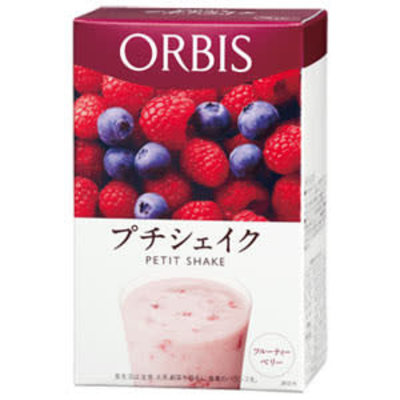 ORBIS ORBIS 低卡纤体营养代餐奶昔 缤纷野莓味 7袋入