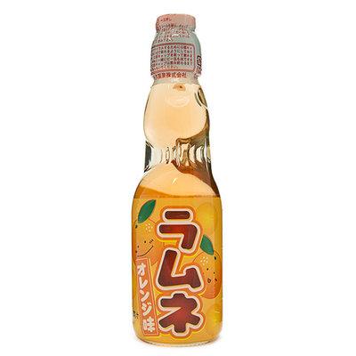 Ramune 波子彈珠汽水 橘子味 200ml