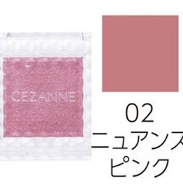 CEZANNE CEZANNE 单色眼影 2019春夏新色 02号烟燻粉