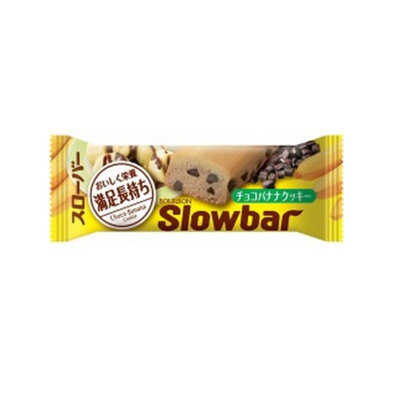 Bourbon Slowbar 低醣质低卡持久饱腹感能量棒 香蕉可可味