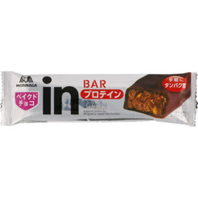Morinaga 森永 In夹心能量棒 高蛋白低卡膳食代餐 巧克力杏仁味