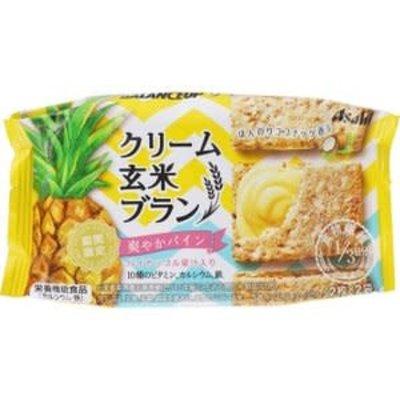 Asahi 饱腹菠萝味糙米饼乾 限定