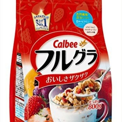 Calbee Calbee 卡樂比水果麥片 原味  600G