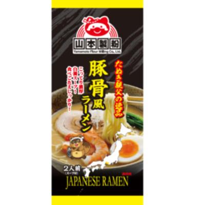 山本製粉 豚骨/辣味拉麵 220g