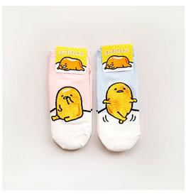 Kikiya 懒蛋君 思考人生造型袜子 粉色 一双