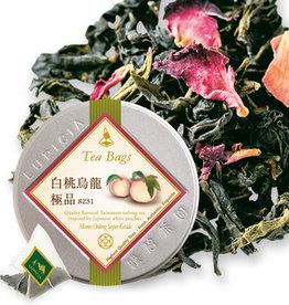 LUPICIA Lupicia 极品白桃乌龙煎茶包 10包入 罐装