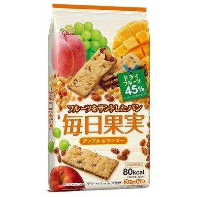 格力高每日果实饼乾 苹果芒果味 112G