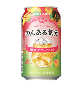 Suntory Suntory 三得利人气无酒精鸡尾酒 梅子味 350ML