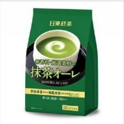 日东红茶宇治抹茶奶茶 10袋