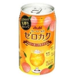 Asahi Asahi 朝日无酒精卡酷鸡尾酒 蜜桃香橙味 350ML