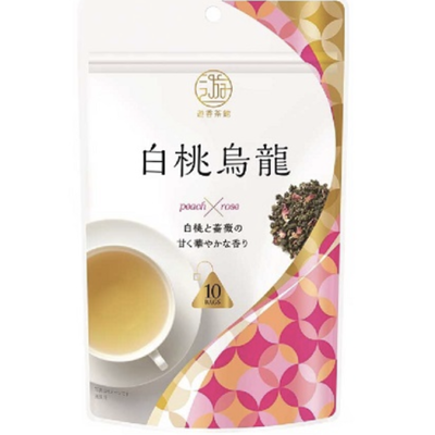 日东游香茶馆白桃乌龙茶 10包