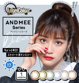 AngelColor AngelColor ANDMEE Series 月拋美瞳 1枚入