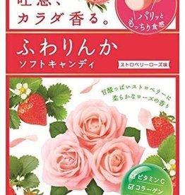 Kracie Kracie 口氣清新吐息軟糖 草莓玫瑰味 32G