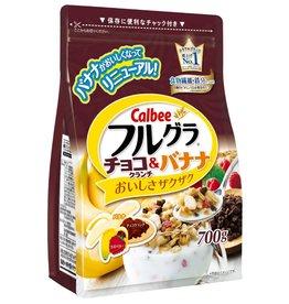 Calbee Calbee 麥片 巧克力&香蕉味 700g