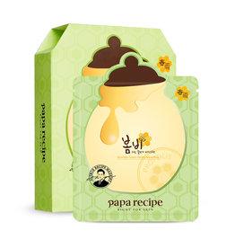 Papa Recipe Papa Recipe 春雨蜜罐蜂胶牛油果面膜盒装 10枚入