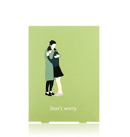 Package Don't worry Healing Mask 10枚入
