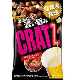 Glico 格力高瘋狂下酒料 黑胡椒燻肉味 42G