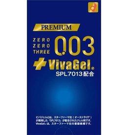 岡本0.03 全新升級新品 VivaGel 安全套 10個入