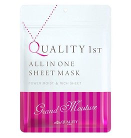 Quality First Quality First 皇后的秘密深層保濕護理面膜 7枚入